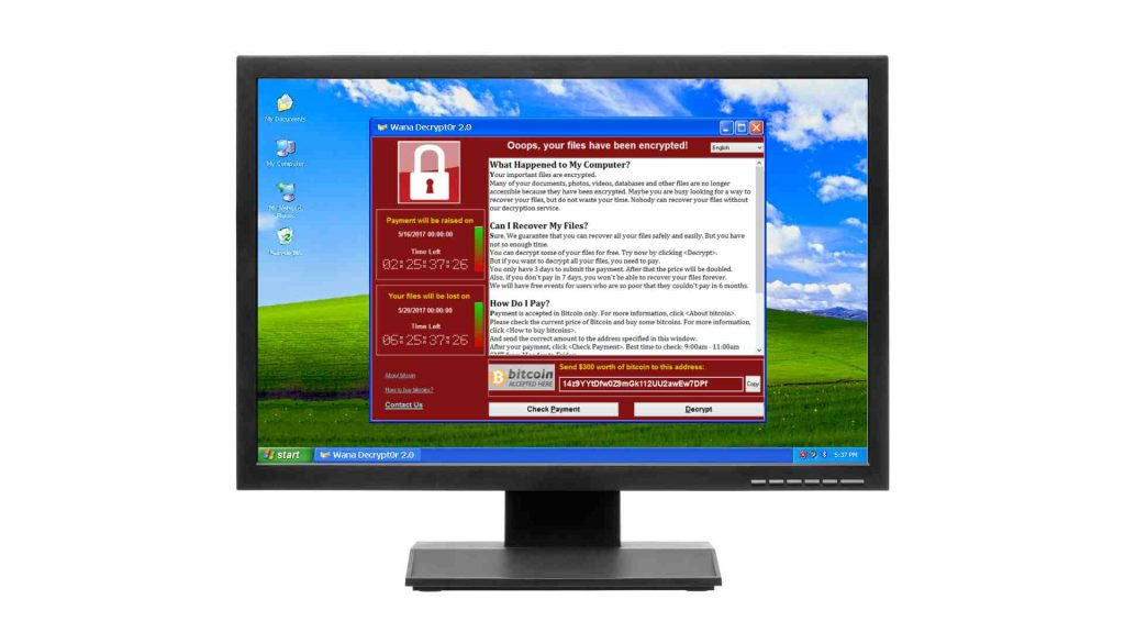 Ransomware - don't become the next victim. #WannaCry